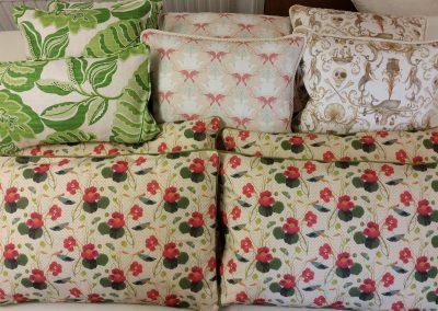 Feathered Nest Soft Furnishings Dorset Cushions Assorted 1