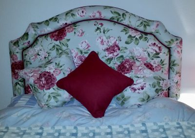 Feathered Nest Soft Furnishings Dorset Headboard Cushions Flowers